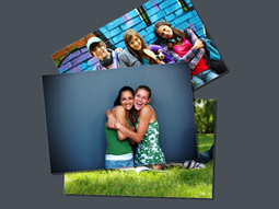 classical pile photo collage template