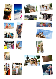 Create beautiful collage with smart collage template