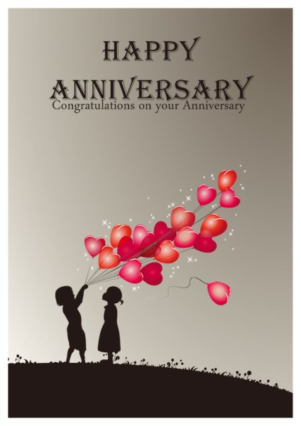 Anniversary Card Templates Addon Pack - Free Download - Greeting