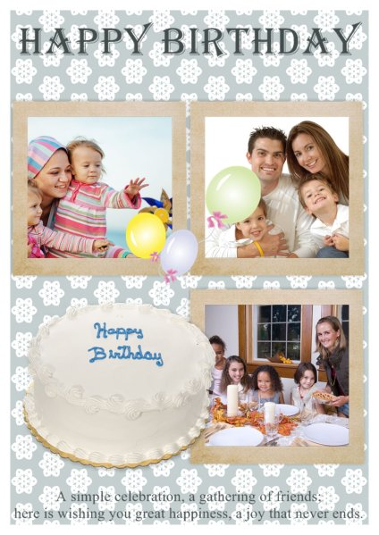 Birthday Card Templates Addon Pack Free Download Greeting Card
