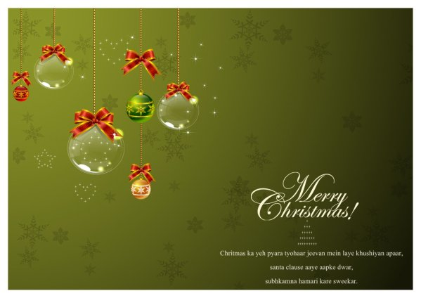 christmas card templates to download