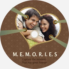 sweet memory disk cover template