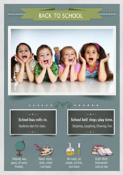 back-to-school poster template