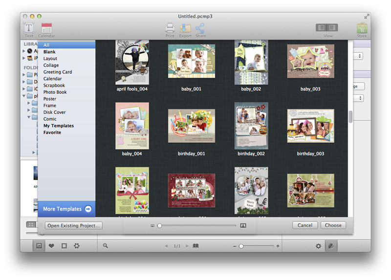 picture collage maker for mac screenshots