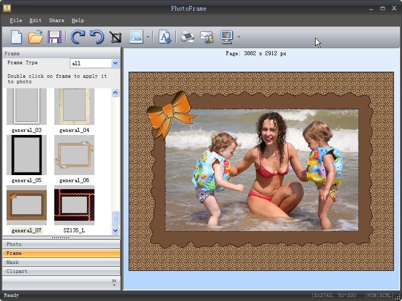 Free Download Photo Frame Master 1.0.1 - imFreeware.com
